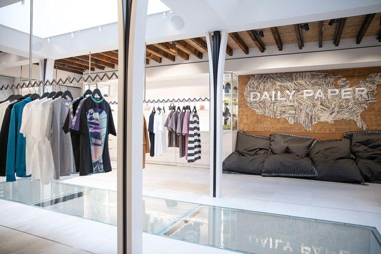 De nieuwe winkel van Daily Paper in New York. Beeld Daily Paper