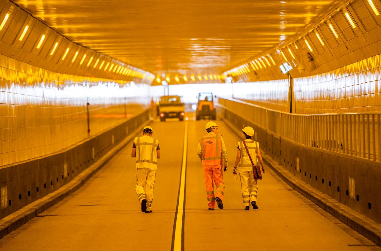 De Maastunnel is vannacht dicht voor autoverkeer.