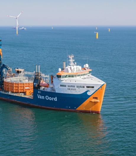 Van Oord legt kabels voor Taiwanese windmolenparken