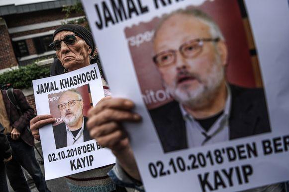 Jamal Khashoggi stierf in het consulaat, gaf Saoedi-Arabië gisteren toe. Volgens het land gebeurde dat echter bij een vechtpartij en niet met opzet. Waar het lijk is, is officieel nog altijd niet geweten.