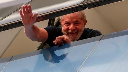 Braziliaanse ex-president Lula dan toch niet uit gevangenis: rechter houdt vervroegde vrijlating tegen