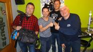 'Iedereen Beroemd' op bezoek bij radio PROS