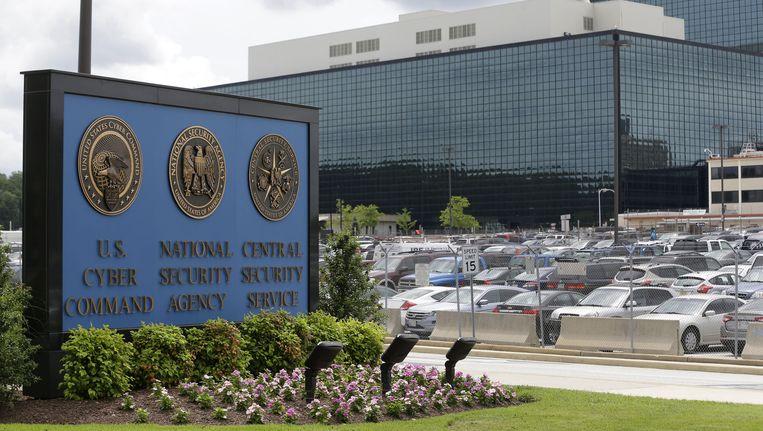 De NSA-campus in Fort Meade.