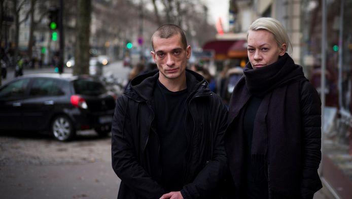 Piotr Pavlenski et son épouse Oksana Chaliguina (archives).