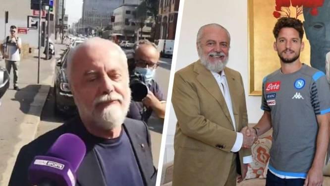 Te veel oesters gegeten? Neen, wel degelijk corona: Napoli-voorzitter maakt geen reclame voor Serie A