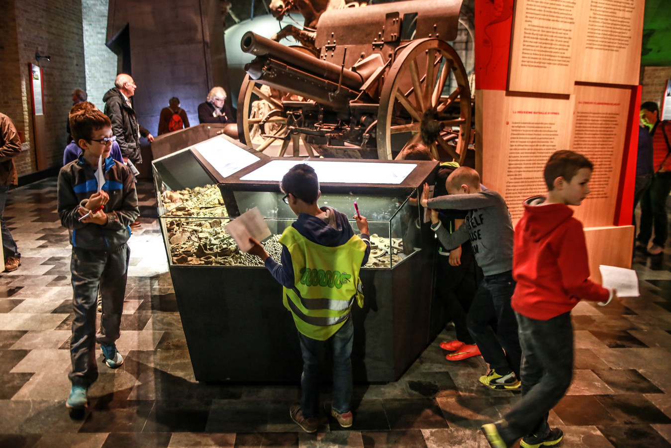 Het In Flanders Fiels Museum geeft haar permanente tentoonstelling een facelift