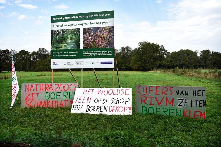 Boeren in de omgeving van Winterswijk maken zich zorgen om de gevolgen van het stikstofbeleid voor hun bedrijf. Beeld Marcel van den Bergh / de Volkskrant