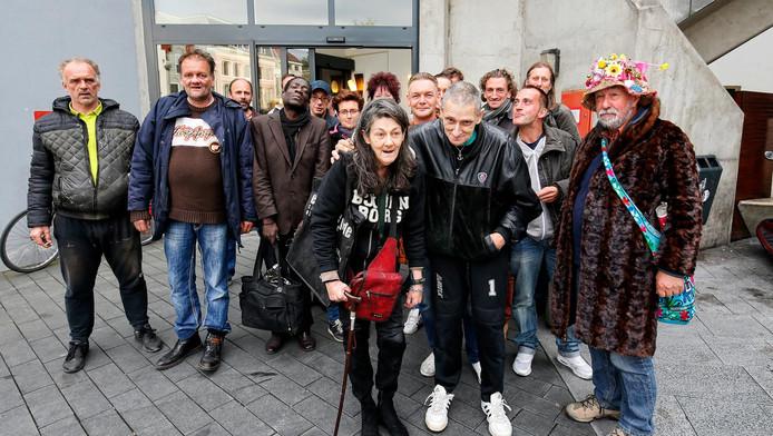 Utrechtse daklozen zijn boos omdat er geen nieuwe plek is gevonden voor een dagopvang