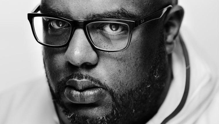 Rotjoch: 'Ik wil allerlei soorten rappers een kans geven. Wij zijn een huis voor alle achtergronden.' Beeld Frank Ruiter/Lumen