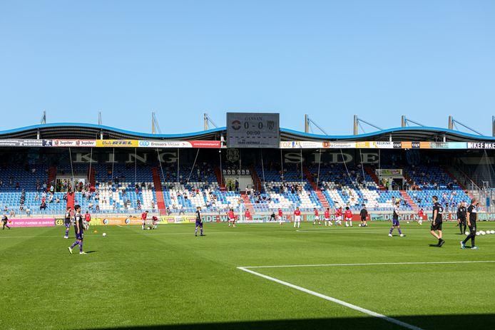 Willem II plaatst grote 'VIP tent' voor sponsors op