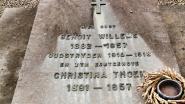 Graf van oud-strijder geruisloos verwijderd