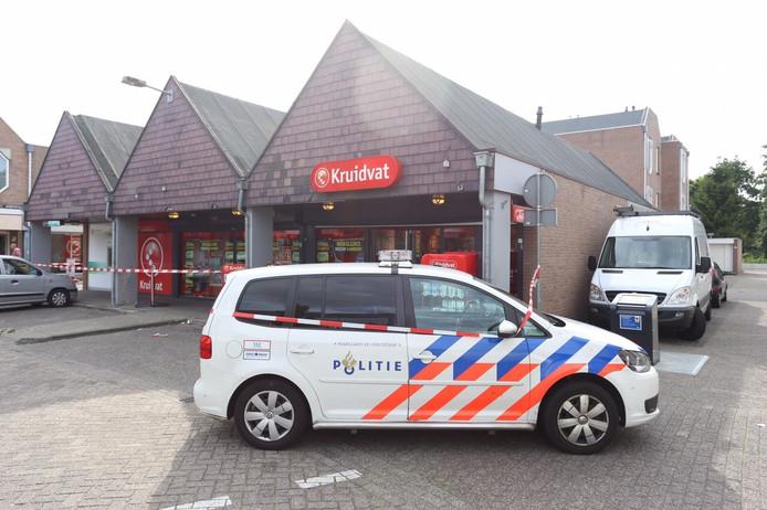 Overval op Kruidvat Eindhoven
