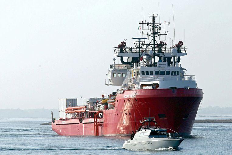 Reddingsschip Ocean Viking.
