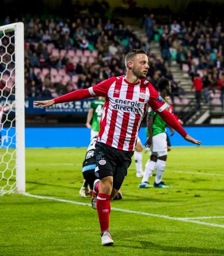 LIVE | Gakpo schiet Jong PSV op De Herdgang naast Cambuur