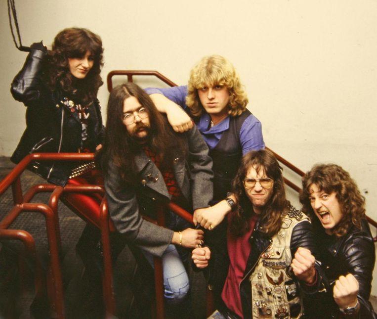 """De leden van Acid in de jaren 80. """"In de vijf jaar dat Acid bestond, deden we altijd en overal ons goesting."""""""