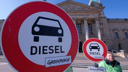 Mag je binnenkort Duitse steden niet meer binnen met je dieselwagen? Rechter laat verbod toe