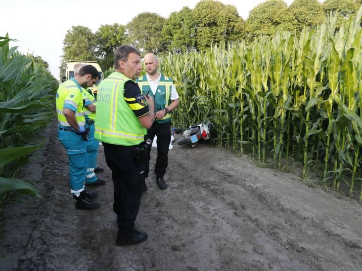 Man overleden na eenzijdig ongeval in Wintelre