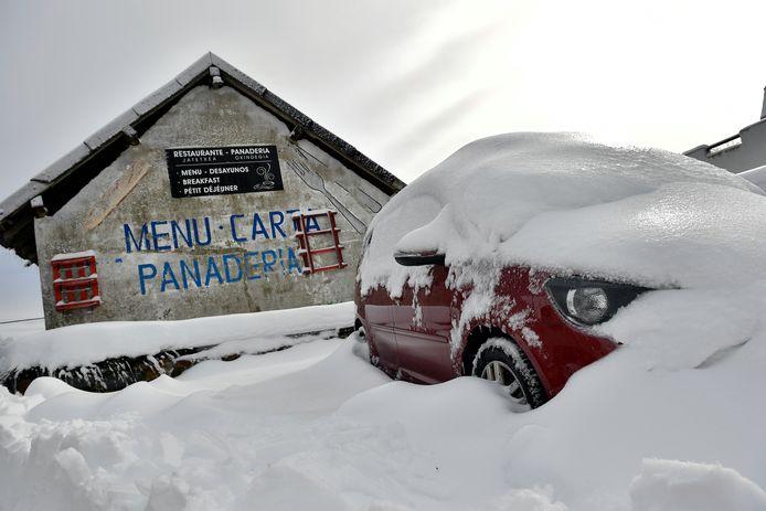 Regen en sneeuw kunnen in het noorden van Spanje voor grote overlast gaan zorgen.