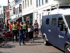 Grote politiemacht op de been in Enschede, maar nog weinig Belgen