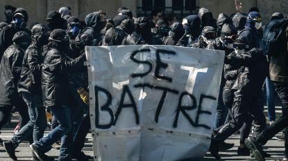 Franse politie arresteert 109 mensen na incidenten tijdens manifestatie in Parijs
