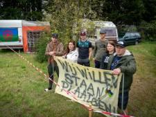 Opnieuw woonwagenprotest bij gemeentewerf in Elst