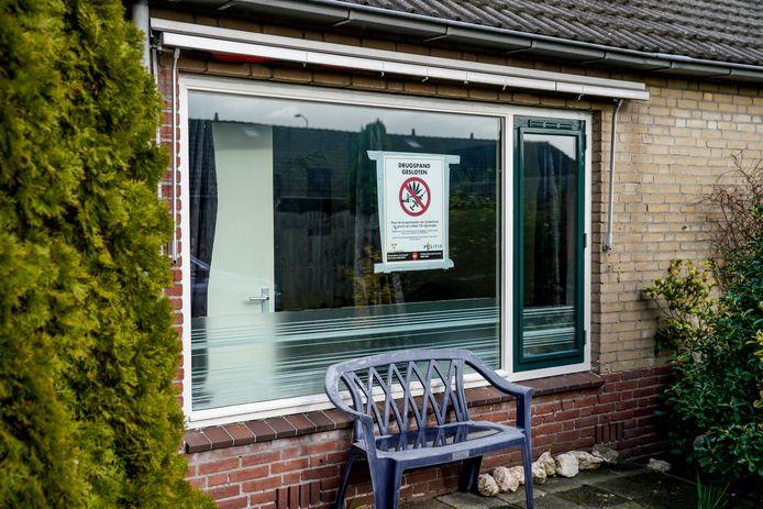 Woning Freesiastraat Oosterhout gesloten na drugsvondst