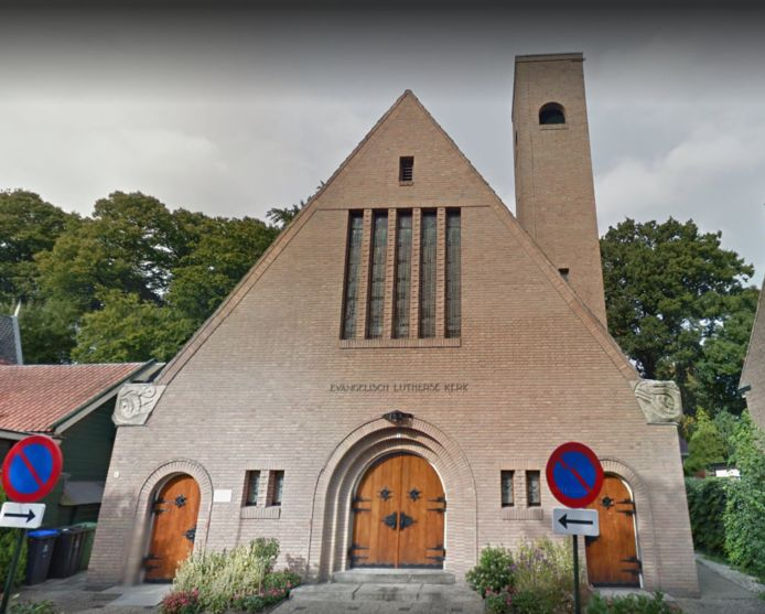 De Lutherse kerk in Hilversum