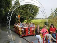 Draisine tussen Groesbeek en Kleef: stijgend bezoek en klein verlies