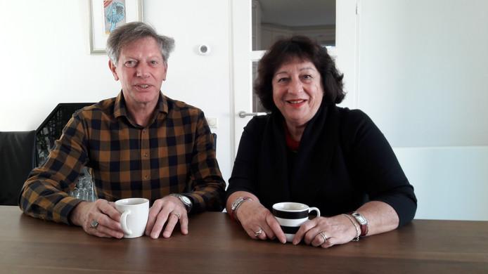 Interim-secretaris Eduard Kerssemakers en interim-voorzitter Hermien Bakker van de Ledenservice ZuidZorg.