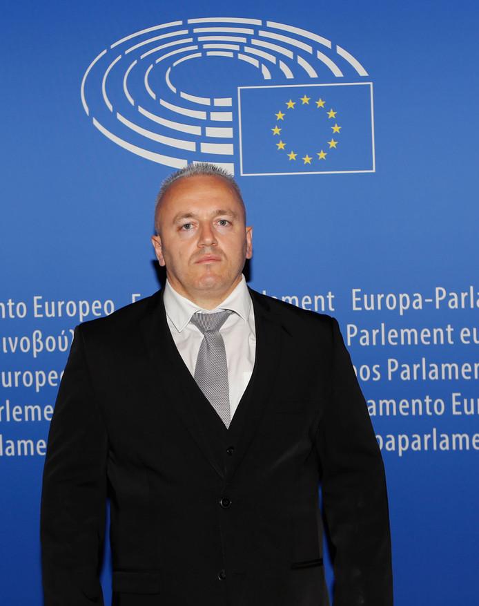 Festim Lato in het Europees Parlement (augustus 2017)