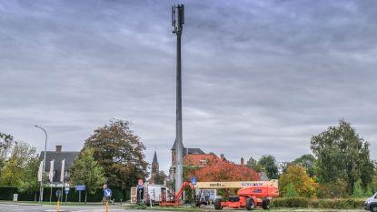 """""""Dorpszicht verpest door 25 meter hoge mastodont"""": commotie rond nieuwe gsm-mast in Kooigem"""