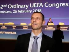 Ceferin wil door als UEFA-voorzitter