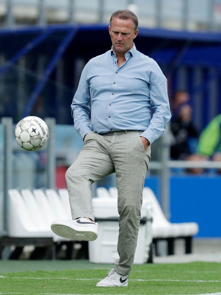John van den Brom, coach van FC Utrecht Beeld BSR Agency