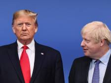 Trump en Johnson praten over beveiligen communicatienetwerk