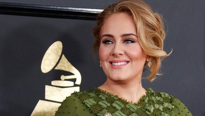Adele won vijf Grammy's.