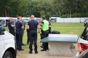 De politie onderzoekt de brand in Bladel waarbij een bejaard echtpaar om het leven kwam.