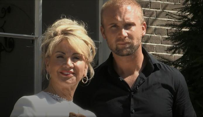 Marijcke van Oss en zoon Mark