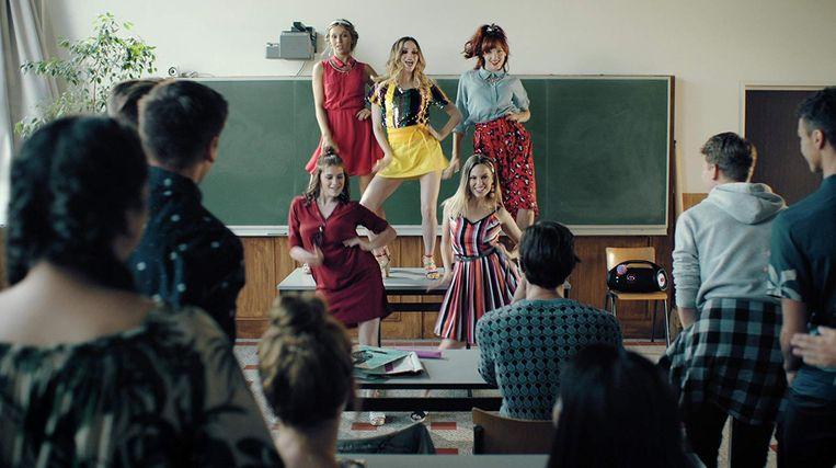 In het eerste seizoen van '#LikeMe' had Liandra (rechtsonder) nog een bijrol. Dit seizoen wordt haar personage belangrijker.