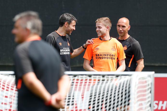 Dante Rigo stond deze week voorlopig voor het laatst op het trainingsveld bij PSV.