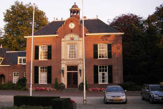 Het gemeentehuis van Heerde