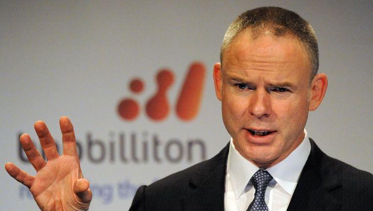 Marius Kloppers, topman van BHP Billiton Beeld afp
