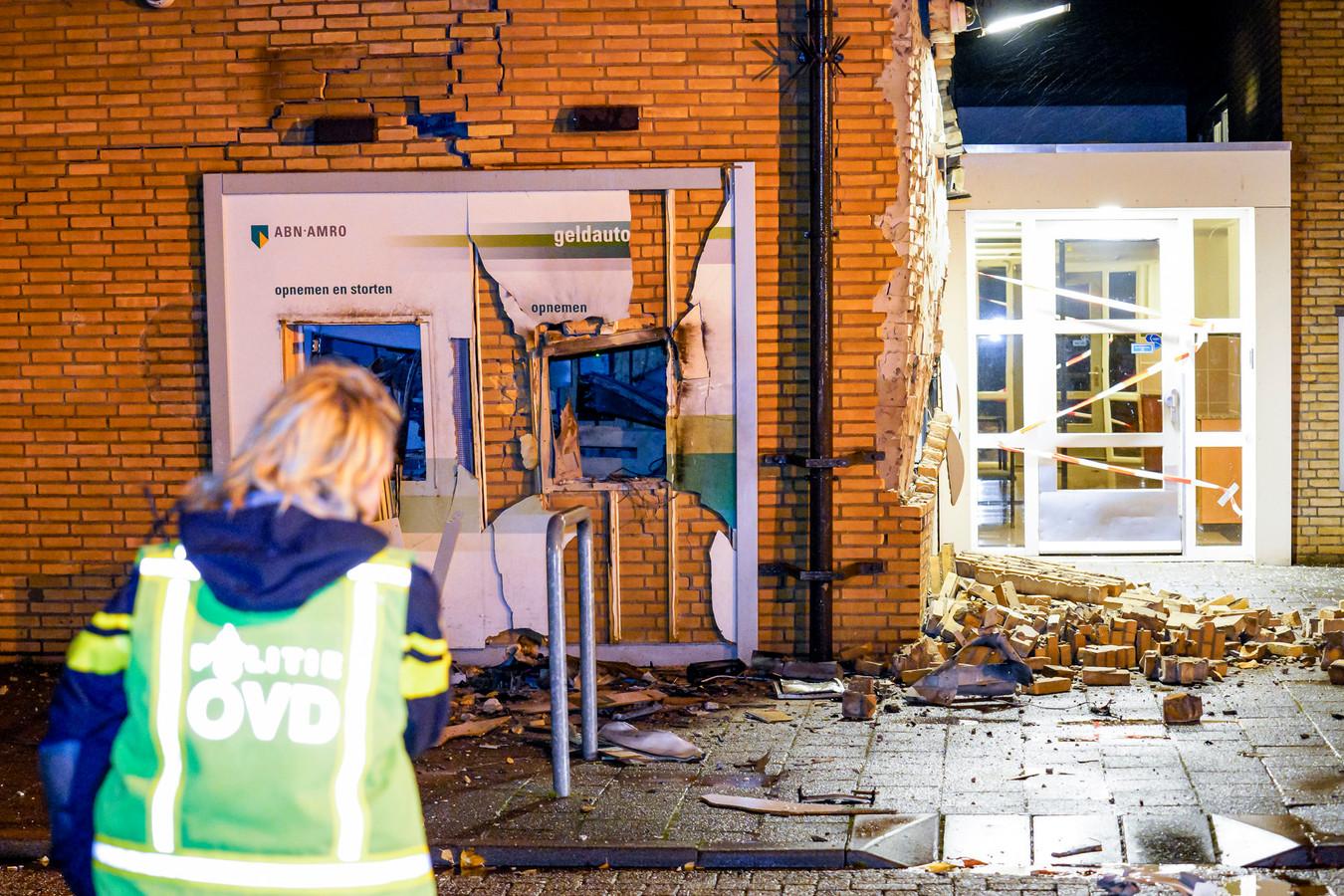 Plofkraak bij de ABN AMRO in Breda