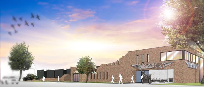 Het nieuwe Memory-museum in Nijverdal.