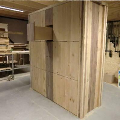 'Als het van hout is, maak ik alles', zegt Feico. Zo ook een kast.