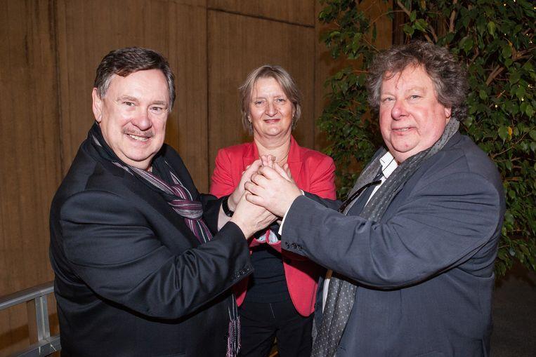 Koen Crucke, Marleen Temmerman en Guido De Leeuw wonnen dit jaar de Gentse Handjes.