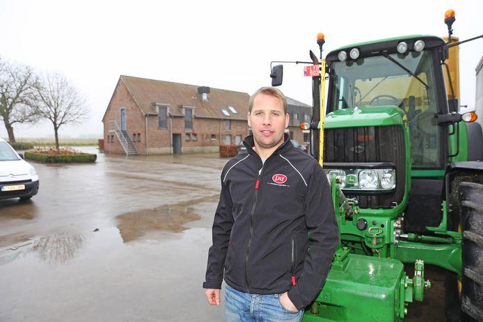 Landbouwer Bart Vanderstraeten was als eerste bij de slachtoffers van de crash.