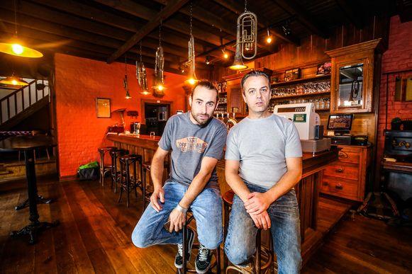 De uitbaters Olli Allaert en Jean-Marc Dekeerle in hun restaurant The Roots.