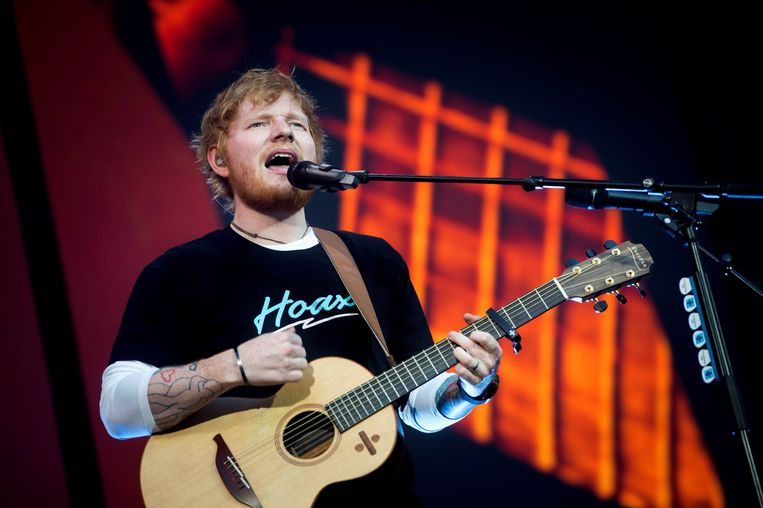Ed Sheeran last pauze in.