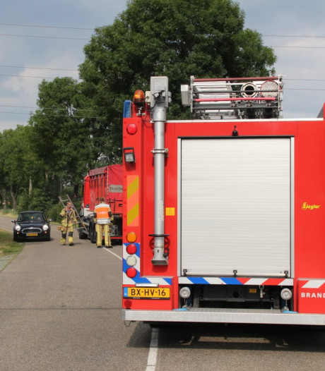 Brand bij Klein Kromhof B.V. in Daarlerveen