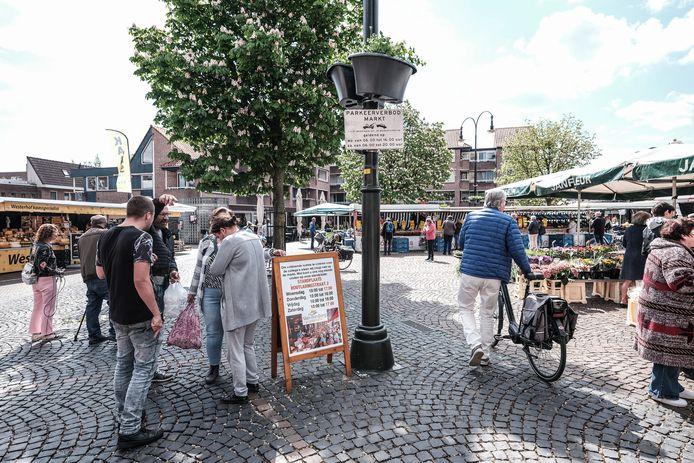 De markt in Winterswijk, eerder dit voorjaar. Archieffoto: Jan Ruland van den Brink